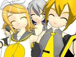 Happy freinds and len by RockySmith
