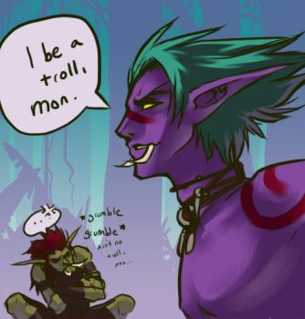 WoW: Trollposter by Altana