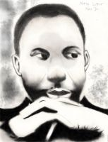 Dr. Martin Luther King Jr. by thegods326