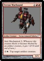 Terran Warhound by starcraftmtg