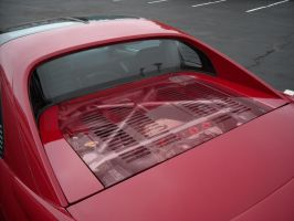 See through MR2 Engine lid by ModifierMR