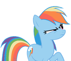 Rainbow Dash- WHAT?! by LoveSongStables