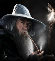 Dark Gandalf by mribby294
