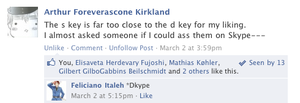 Hetalia Facebook: Stupid Keyboards by gilxoz-epicness