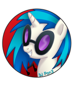 DJ Pon3 Pin by BrittanysDesigns
