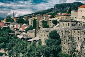 Old City Mostar by cahilus