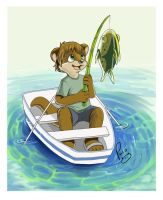 Keep fishin' by pandapaco