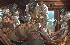 Orcs and Prisoner - Color by ChristopherStevens