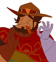 When You Leave Overwatch Just Right by hewten