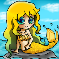 Gift: Mermaid by Melanthriel