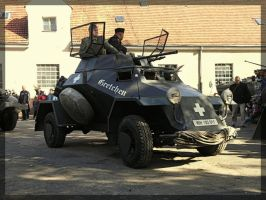 Sd. Kfz. 222 Gretchen by WormWoodTheStar