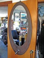 Elliptical Mirror Frame with tentacle by ou8nrtist2