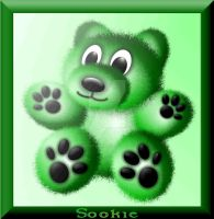 Green Bear by Sookie by sookiesooker