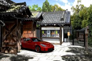Kyoto drive through GT5 by whendt