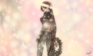 Naughty or Nice? - wallaper by Saidge42