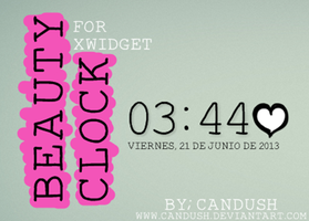 Beauty Clock By,Candush by Candush