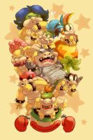 The Koopa Kids by procon-8
