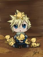 Chocobos by ChibiDoodlez