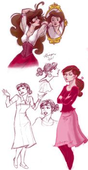 doodles of Jayne...old ones by GingerOpal