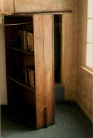 Ann Frank's Bookcase by Kagedfish