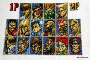 Super Street Fighter 2 by StitchPlease