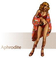 Aphrodite - with color by QueenOfTheCute