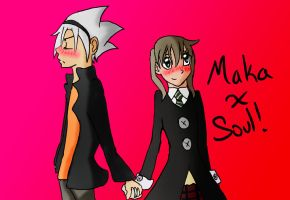 Maka And Soul! by ChristaliChan