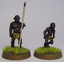 African Villagers by FraterSINISTER