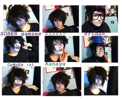 Homestuck Cosplay Tests by TheAscendeadMaster