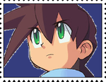 Megaman Volnutt's Stamp by RalphAguilar462