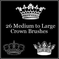 Crown Brushes by butnotquite