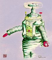 Robot - Lost in Space by danevilparker