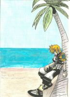 Ventus On The Destiny Island by Draculsondevil