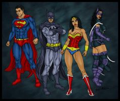 Justice League Team 2 by jmaturino