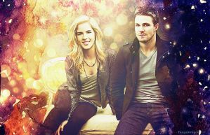 Olicity wallpaper by TanyaGreece