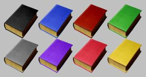 Book Icons for Vista by JollyGreenJustin