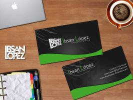 New Business Card by ibsanlopez