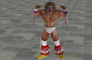 'WWE: All Stars' Ultimate Warrior P2 XPS ONLY!!! by lezisell