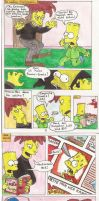 Simpsons_Strip Murder for Comics by Schattencyra