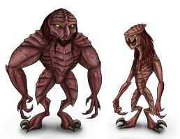 Animorphs Races: Ongachic by Monster-Man-08