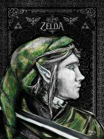 Link The Proud Hylian Geek Line Artly Painterly by studiomuku