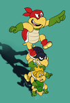 The Koopa Bros. by PlatypusPirate