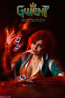 The Witcher - GWENT - Triss by MilliganVick
