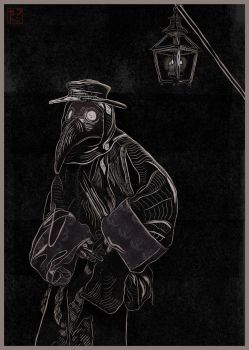 Plague Doctor Concept by JackSephton