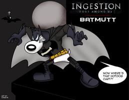 Batmutt Ingestion Dogs Among Us by 101Keys