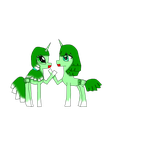 pony design:petchay and bok choy by Lovehalo