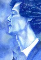 Sherlock - A Dream in Blue by ombradellaluna