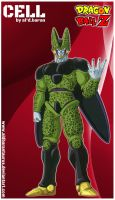 Cell (dragon ball z) by al'd.baran by AldbaranTaurus