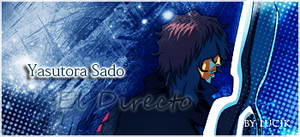 Yasutora Sado_Bleach_signature by MissCaelum
