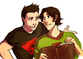 kon and tim by thanoodles